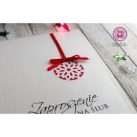 Zimowe zaproszenie / kartka świąteczna