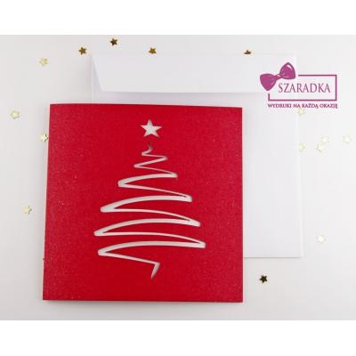 Kartki świąteczne z WYCIĘCIEM